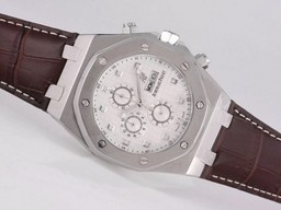 Fake Gorgeous Audemars Piguet Royal Oak 30th Anniversary Working Chronograph AAA Watches [A1I2]