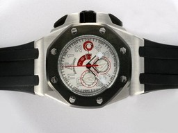 Fake Gorgeous Audemars Piguet Royal Oak Alinghi Working Chronograph PVD AAA Watches [A3D9]