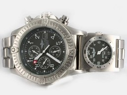 Fake Cool Breitling Chrono Avenger/UTC Chronograph Automatic with Gray Dial AAA Watches [V3E1]