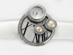 Fake Fancy Cartier Classic Diamond Bezel with White Dial AAA Watches [V9K5]