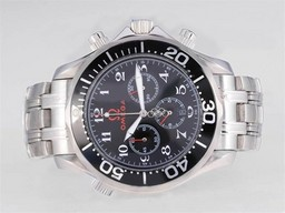 Fake Populære Omega Seamaster Chrono Diver Olympic Edition - Samme Chassis Som 7750 Movement AAA Klokker [ N9S7 ]