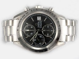 Fake Quintessential Omega Speedmaster Chronograph Movement AAA Horloges [ S2S8 ]
