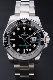Fake Cool Rolex GMT Master II AAA Horloges [ E5K9 ]