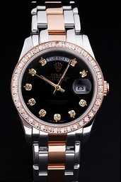 Fake populares Rolex Daydate AAA relojes [ X3Q3 ]